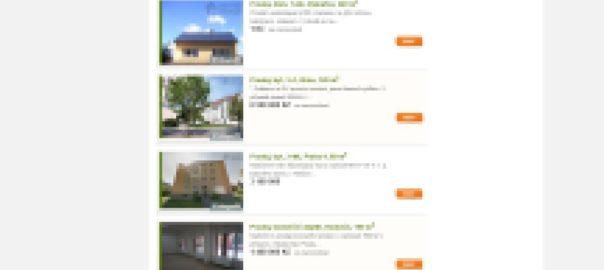 inzerce nemovitostí